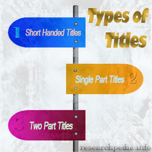 Types of Title