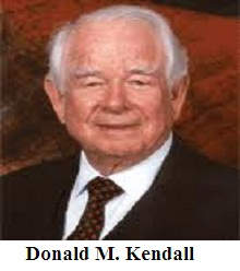 Donald M. Kendall Founder of PepsiCo