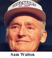 Samuel Moore Walton Founder of Walmart