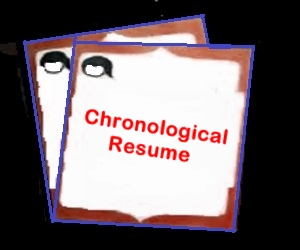How to make Chronological Resume