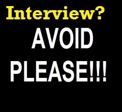 Things not to Say in Job Interview