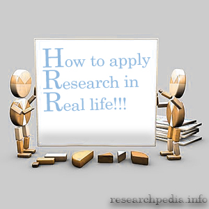 How to apply research in real Life