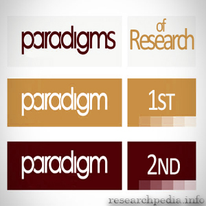 What do we mean by paradigms of research
