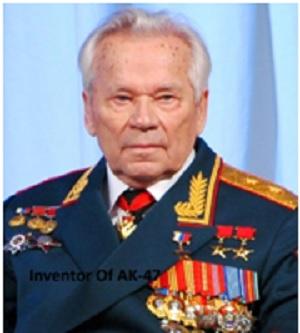 Information on Mikhail Kalashnikov or website?