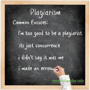 5 common excuses for plagiarism