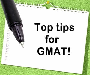 Top Tips for GMAT Exam