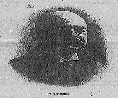 Philip Diehl Inventor of Sewing Machine