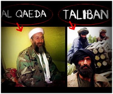 Difference between Taliban and Al-Qaeda