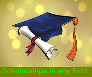 Scholarships in any field or study or in any country