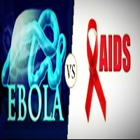 Difference between Ebola and AidsHIV