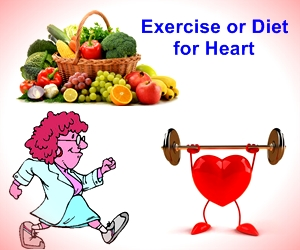 Diet or Exercise which is better for your Heart