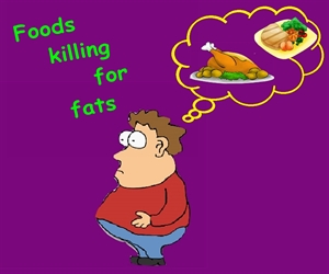 Foods effective for Killing Belly Fat