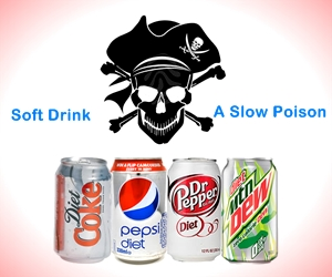 Be careful: Soft Drink proved to be a Slow Poison