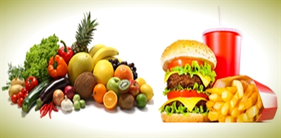 compare and contrast between healthy foods and unhealthy foods What is the difference between healthy and unhealthy fat  sources of unhealthy fats come  heathy fats come from healthy foods like nuts and unheathy fats come.