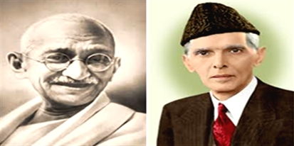 Difference between Muhammad Ali Jinnah and Mahatma Gandhi