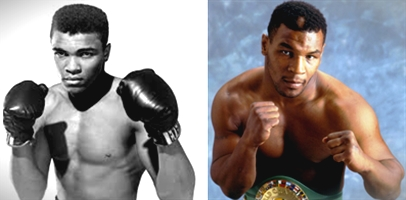 Difference between Muhammad Ali and Mike Tyson