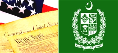 Difference between American Constitution and Pakistan Constitution