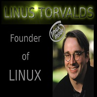 Linus Torvalds Founder of Linux
