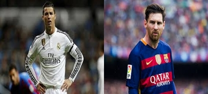 Difference between Cristiano Ronaldo and Lionel Messi