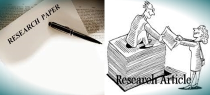 Term paper research paper difference