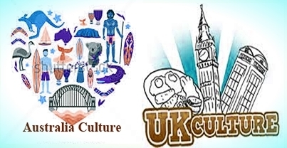 Difference between Australia and United Kingdom (UK) regarding their Culture