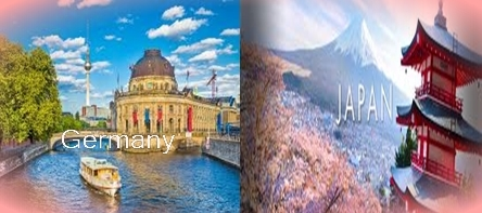 Difference between Germany and Japan