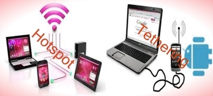 Difference between Hotspot and Tethering