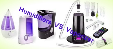Difference between Humidifiers and Vaporizer
