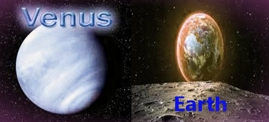 Difference between Venus and Earth
