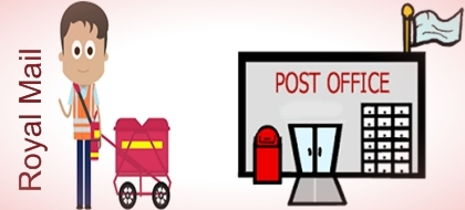 Difference between Royal Mail and Post Office