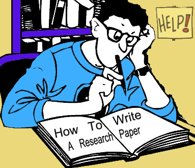 How to write a research paper and what are its basic parts?