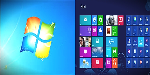 difference between windows 7 and windows 8